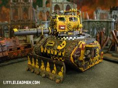 Ork Looted Wagon with Boom Gun or at least that is what I think it would be last time I read the rules...
