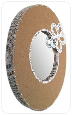 Recycled cardboard - Mirror - cocolico-creations