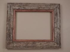 Barnwood Frame with oak filet. Other sizes and colors available upon request