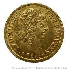 [Monnaies royales françaises. Louis XIII] - 1