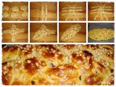 Pletení vánočky vcelku -  ze šesti Pizza, Bread, Cheese, Advent, Food, Breads, Bakeries, Meals