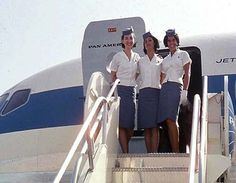 PAN AM airlines Stewardess Pictures