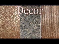 Decorative putty in 3 simple ways. Decor for small surfaces Furniture Painting Techniques, Painting Tips, Faux Painting, M Craft, Clay Fairy House, 5 Min Crafts, Painted Floors, Hallway Decorating, Texture Art