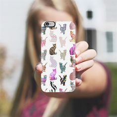 Whimsical Cats iPhone 6 Case | perfect gift idea for all you cat lovers.