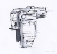 Spaceships concept art by Neil Blevins. Spaceship Drawing, Spaceship Art, Spaceship Design, Space Ship Concept Art, Concept Ships, Starship Concept, Space Engineers, Sci Fi Spaceships, Sci Fi Ships