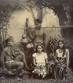 Native Tahitians - one of many Polynesian peoples in the Pacific c.1870–90. Frank Homes (1870-1953) Michaelevansfineart.com. The Tahitians, or Maohis, are indigenous peoples of Tahiti and thirteen other Society Islands, as well as the modern population of these lands of mixed ancestry (French: demis). The Tahitians are one of the most significant indigenous Polynesian peoples of Oceania.