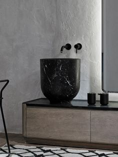 Zara Home Bathroom, Modern Bathroom, Bathrooms, Bathroom Ideas, Carrara Marble, Marble Top, Toilet Room Decor, Washbasin Design, Future House