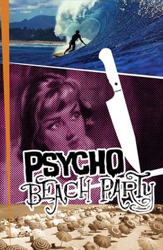 Cure the winter blues with Charles Busch's PSYCHO BEACH PARTY, presented by Stray Dog Theatre - Feb 7- 23.