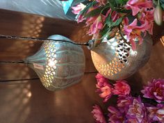 Hanging Moroccan Ceiling Lights