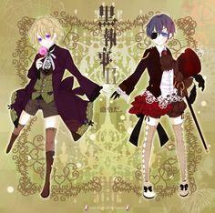 Black Butler (Kuroshitsuji) - Ciel Phantomhive x Alois Trancy - Royalty by semi-shigure