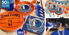 Dallas Mavericks Party Supplies - Party City