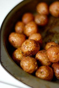 Rosemary & Sea Salt Roasted Mini Red Potatoes – .38¢