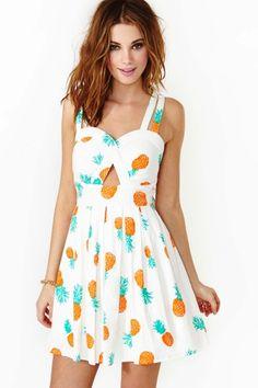 Pineapple Punch Dress