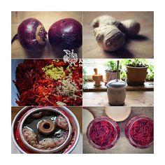 Kuchařka ze Svatojánu: KVAŠENÁ ČERVENÁ ŘEPA Pickles, Onion, Food And Drink, Vegetables, Fruit, Drinks, Drinking, Beverages, Onions