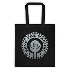 Save The Manual 3D Tote | 6-SPEED with lower right reverse