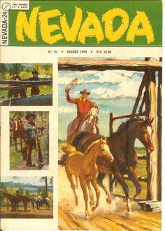 WEBNODE :: Galeria de fotos :: 70 ANOS DE GIBIS - NEVADA (Ebal) - Red Ryder (O Cavaleiro Vermelho), de Fred Harman