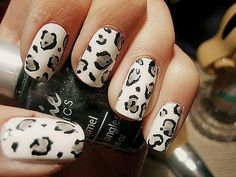 Cruelty Free - Nail Polish Brands That Don't Test On Animals Get Nails, How To Do Nails, Hair And Nails, Pedicure, Nail Art Designs, Leopard Print Nails, Leopard Prints, Animal Prints, Nail Polish Brands