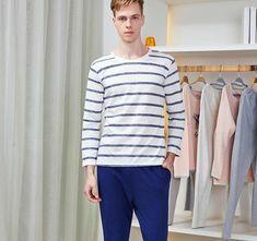 bcf0d2cbf68 Striped Pajamas. Striped PyjamasPajama PantsCotton NightiesLounge Wear PajamasSleep SetCasualMenShirtsDressPjsSleep ...