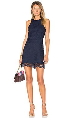Caspian Dress in Navy