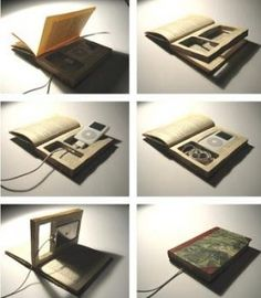 This #DIY ipod case brings a whole new meaning to the term 'audio book.'
