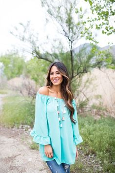 Chiffon Boho Peasant Tunic Top! 6 Colors! | Jane