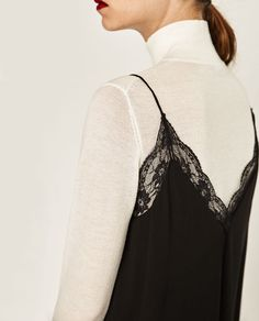 Image 6 of LACE CAMISOLE TOP from Zara