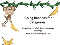 Going Bananas for Categories