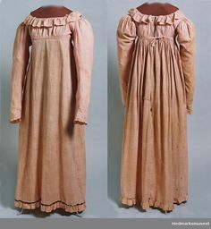 Dress, Cotton, 1810-1815