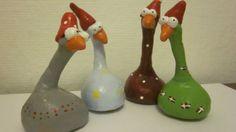 Så er julens første trylledejsfigurer fremstillet. Jeg havde fået gode idéer, og dem måtte jeg bare afprøve. Hvad siger I så, er de ikke sjove. Jeg kunne godt forestille mig,at der er nogen der ka…
