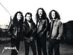 Metallica aka the group of rad hair