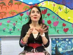 video on teaching sketchbooks usage to children