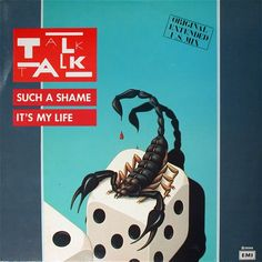 "Talk Talk - Such A Shame / It's My Life (Italian 12"")"