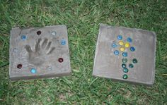 How to Make Garden Stones with Kids