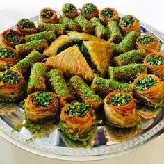#TurkishDessert #yummy #delicious Lebanese Recipes, Turkish Recipes, Italian Recipes, Arabic Dessert, Arabic Food, Turkish Sweets, Dessert Tray, Fish And Meat, Fresh Fruits And Vegetables