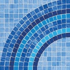 #Bisazza #Decorations ad Andamento Break blue | #Porcelain stoneware | on #bathroom39.com at 1207 Euro/box | #mosaic #bathroom #kitchen
