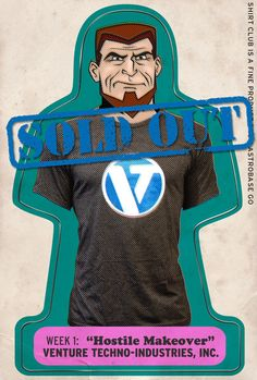Venture Bros shirts