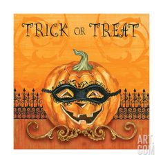 Jack O Lantern Giclee Print by Gregory Gorham at Art.com
