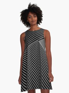 Geometri illusion pattern A-line dress Also Available as T-Shirts & Hoodies, Men's, Women's #Apparels, Stickers, iPhone Cases, Samsung Galaxy Cases, Posters, Home Decors, Tote Bags, Pouches, Prints, Cards, Mini Skirts, Scarves, iPad Cases, Laptop Skins, Drawstring Bags, Laptop Sleeves, and Stationeries #dress #style #fasion