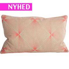 Pudebetræk - Cyber - Neon Pink - 30*50 cm.