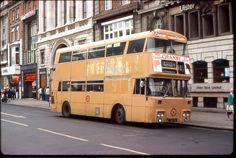 Dublin - Atlantean, PDR1/1 D114 (VZI 114), with CIE/MS bodywork. Double Decker Bus, Busse, Dublin, Irish, Ms, Irish People, Ireland, Irish Language