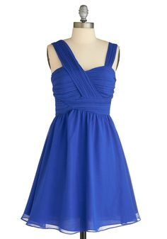 amuse ruche dress from modcloth. $59.99 Looooove the asymmetric straps. Interesting but subtle, looks light but still formal.