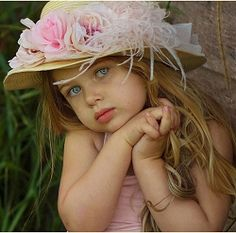 Dollcake Rose Vintage Hat ~ this little girl is beautiful!