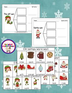 This download includes 35 winter words with pictures place the sharing kindergartenchristmas writing freebie and christmas word wall words sciox Gallery