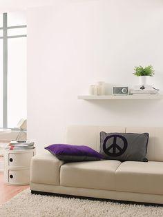 Gut Mit Einer Lässigen Schwarz Weiß Gestaltung Wirkt Jedes Zimmer Nordisch Und  Cool. Damit