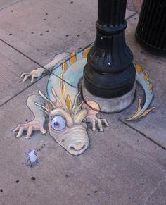 http://ego-alterego.com/2012/10/chalk-street-art-–-30-adorable-creations-by-david-zinn/