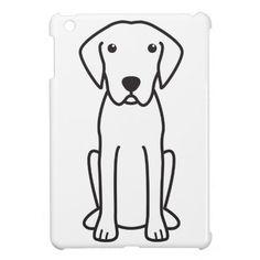 Plott Dog Cartoon Cover For The iPad Mini