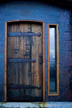 Lovely old door...