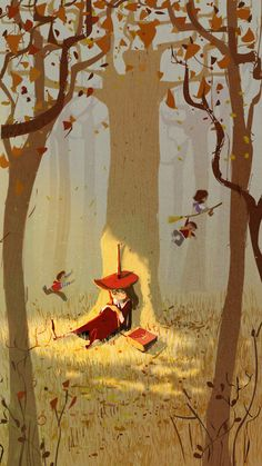 under the trees by pascal campion