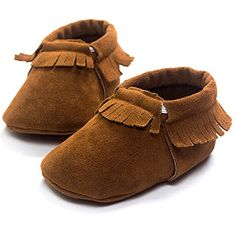 2016 New Suede pu leather Newborn Baby Infant Toddler shoes baby Moccasins Soft Mocc Bebe Soft Sole Non-slip Prewalker Shoes Soft Baby Shoes, Baby Boy Shoes, Crib Shoes, Toddler Shoes, Girl Toddler, Infant Toddler, Toddler Moccasins, Baby Moccasins, Brown Babies