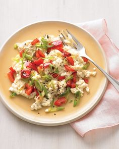 Protein-Packed Breakfast Scramble - substitute tempeh for tofu or leave it out